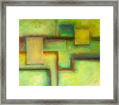 Drifting In And Out Framed Print