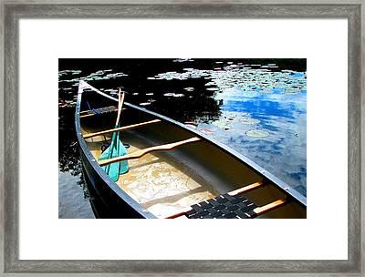 Drifting Into Summer Framed Print by Angela Davies