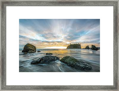 Drifting Into The Silence Framed Print by Jon Glaser