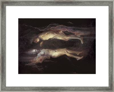 Drifting Framed Print by Odd Nerdrum