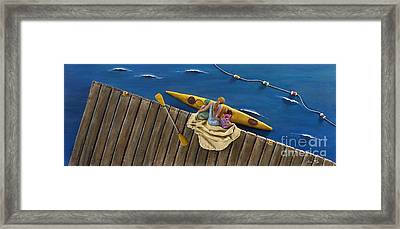 Drifting Off Framed Print