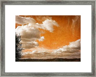 Framed Print featuring the photograph Drifting Through The Valley by Glenn McCarthy Art and Photography
