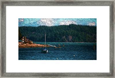 Drifting Framed Print by Timothy Hack