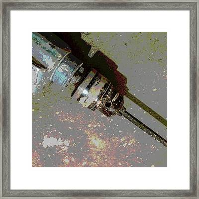 Drill Framed Print by Tetyana Kokhanets