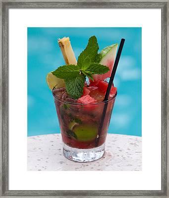 Drink 27 Framed Print