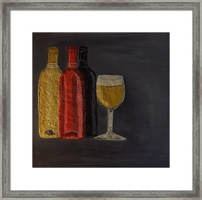 Drink After Midnight Framed Print