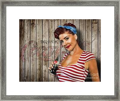 Drink Coca-cola Framed Print