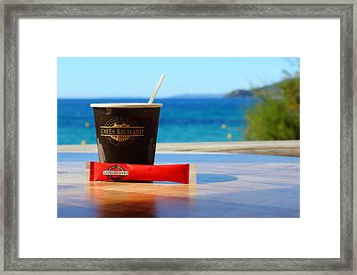 Framed Print featuring the photograph Drink It In by Richard Patmore