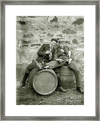 Drinking Buds Framed Print