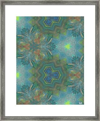Drinking The Nectar Of Life Framed Print
