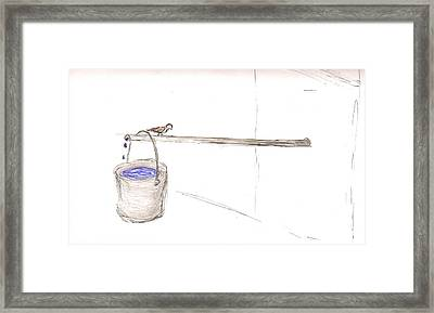 Drip Marketing For Jesus Framed Print by TK Mayfield