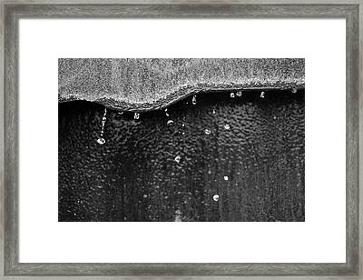 Dripity Split Framed Print by Kreddible Trout
