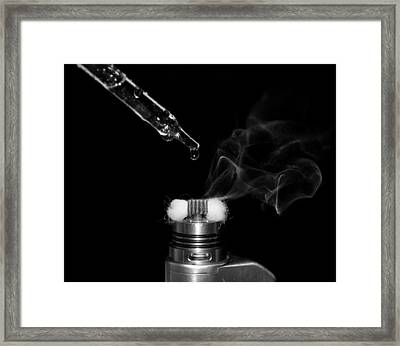 Dripper Dream Framed Print