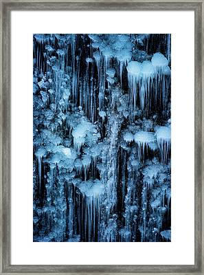 Dripping In Diamonds Framed Print