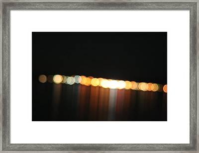Dripping Light Framed Print by David S Reynolds