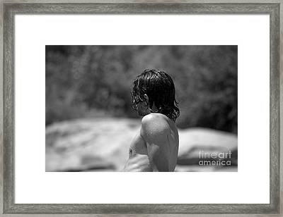 Dripping With Desire Framed Print