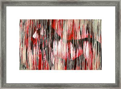 Drippings Horse Framed Print