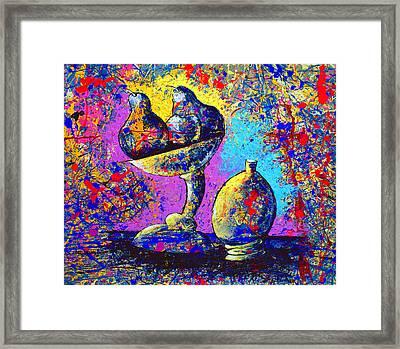 Dripx 79 Framed Print
