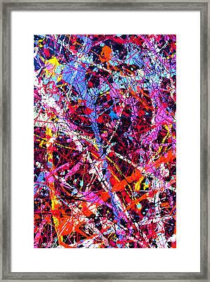 Dripx 11 Framed Print