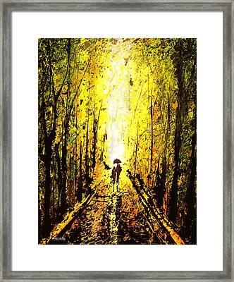 Dripx 71 Framed Print