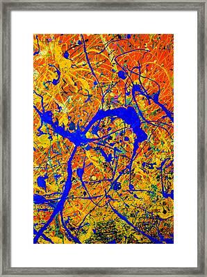 Dripx 90 Framed Print