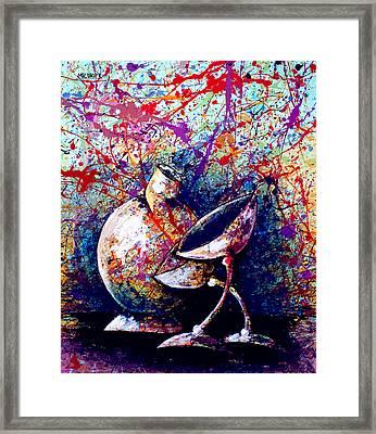 dripX 84 Framed Print