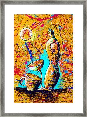 Dripx 75 Framed Print