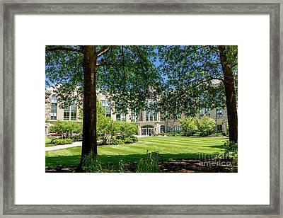 Driscoll Hall Framed Print