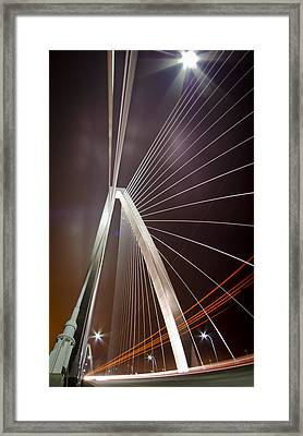 Drive-by Lights Framed Print by Andrew Crispi