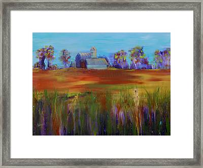 Drive-by View Framed Print by Terri Einer