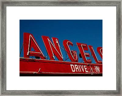 Drive In- California  Framed Print