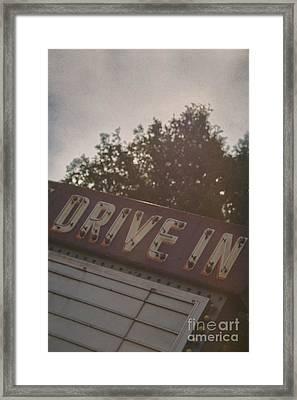 Drive In II Framed Print