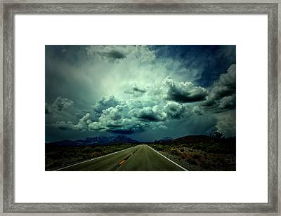 Drive On Framed Print
