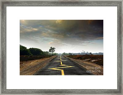Drive Safely Framed Print by Carlos Caetano