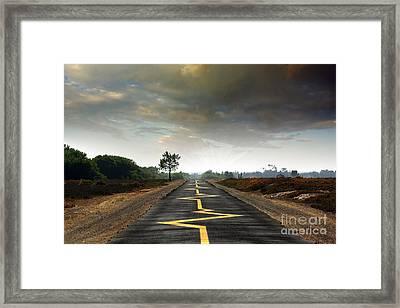 Drive Safely Framed Print by Carlos Caetano