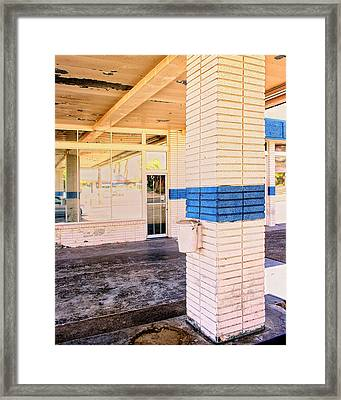 Drive Through Framed Print by William Dey