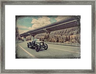 Drive To The Brenner Pass Framed Print