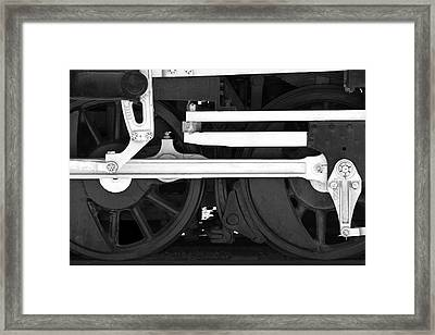 Drive Train Framed Print