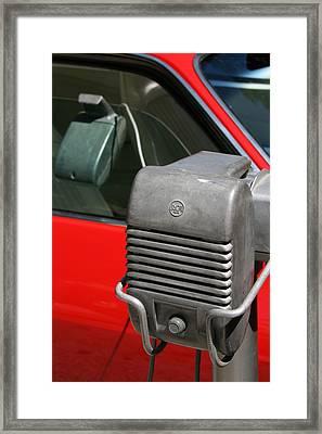 Drivein Framed Print by Gwyn Newcombe