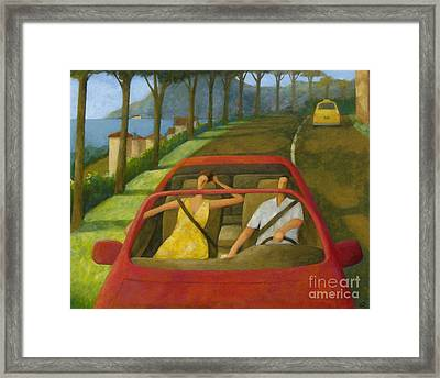 Driven Framed Print by Glenn Quist