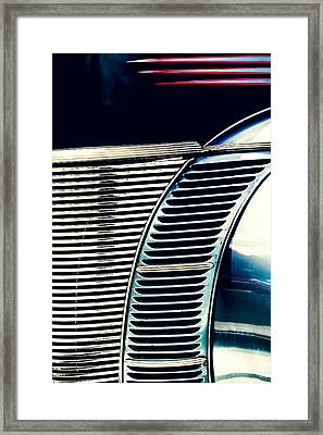 Driven To Abstraction Framed Print by Caitlyn Grasso