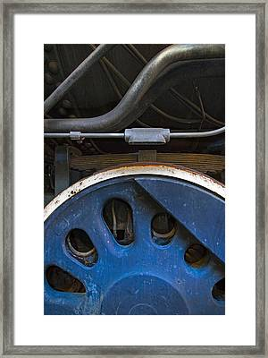 Driver And Pipes Framed Print