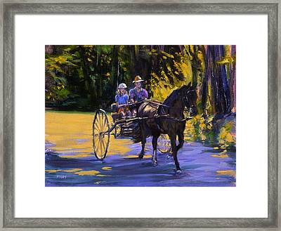 Driver Training Framed Print