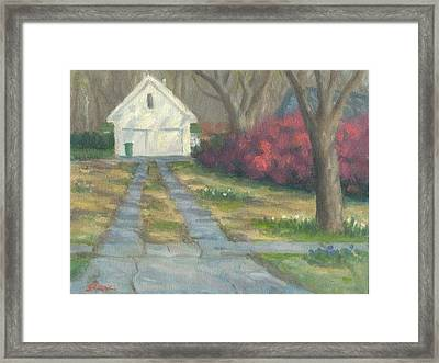 Driveway Framed Print by Michael Gillespie