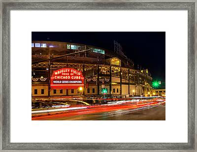 Driving Past History Framed Print