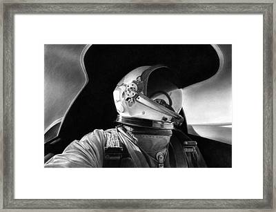 Driving The Dragon Lady Framed Print by Lyle Brown