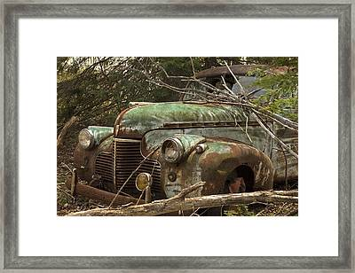 Driving Under The Influence Framed Print