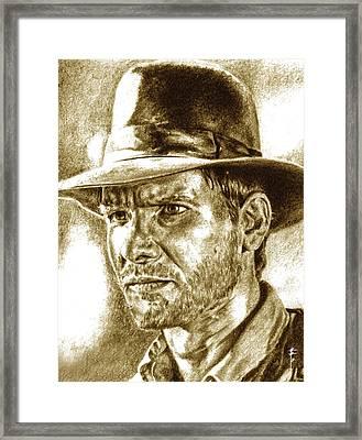 Dr.jones Framed Print