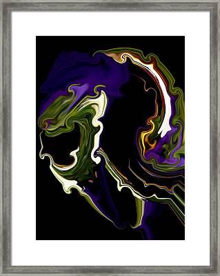 Droid Framed Print by Karen M Scovill