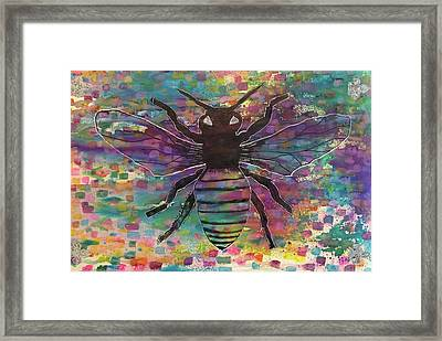 Drone Framed Print